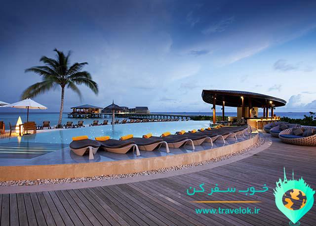هتل 5 ستاره سنتارا راس فوشی مالدیو