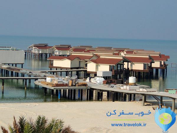هتل ساحلی ترنج کیش