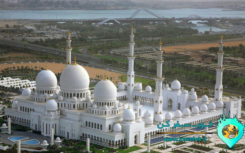 مسجد بزرگ شیخ زاید